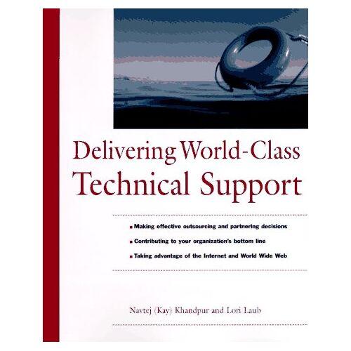 Navtej Khandpur - Delivering World-Class Technical Support - Preis vom 13.04.2021 04:49:48 h