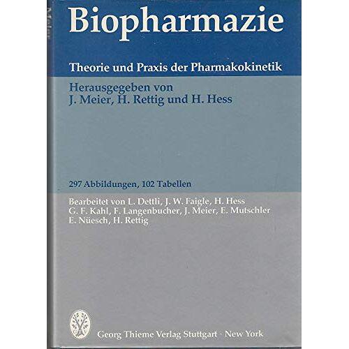 Jürg Meier - Biopharmazie - Preis vom 06.09.2020 04:54:28 h