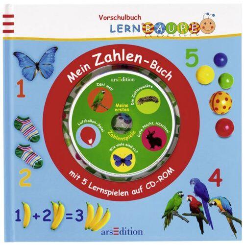 kein Autor - Lernraupe: Mein Zahlen-Buch, mit 5 Lernspielen auf CD-ROM - Preis vom 26.05.2020 05:00:54 h