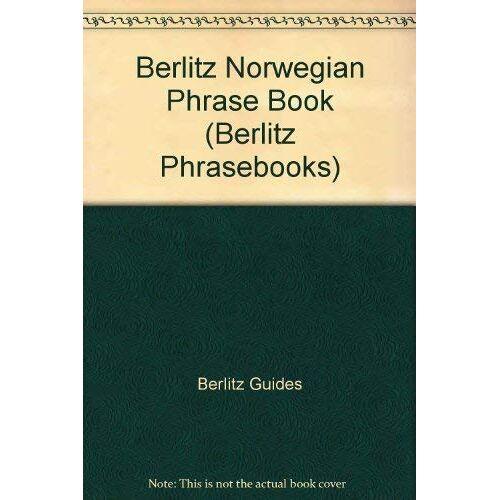 Berlitz Guides - Berlitz Norwegian Phrase Book (Berlitz Phrasebooks) - Preis vom 05.03.2021 05:56:49 h