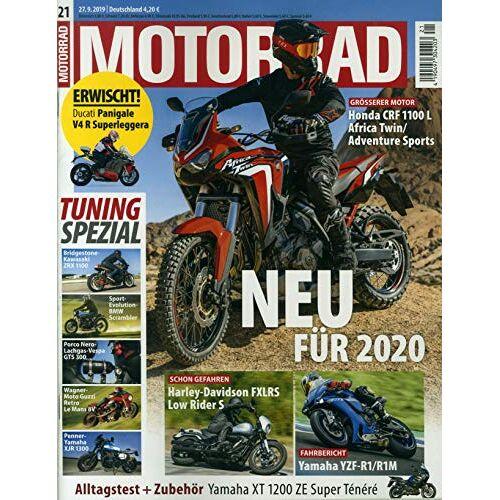 Motorrad - Motorrad 21/2019 Neu für 2020 - Preis vom 20.10.2020 04:55:35 h