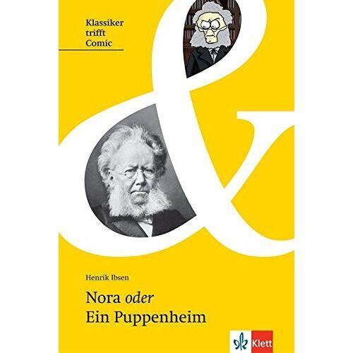 Henrik Ibsen - Nora oder ein Puppenheim (Klassiker trifft Comic) - Preis vom 20.10.2020 04:55:35 h