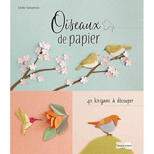 - Oiseaux de papier : 40 kirigami à découper - Preis vom 13.05.2021 04:51:36 h