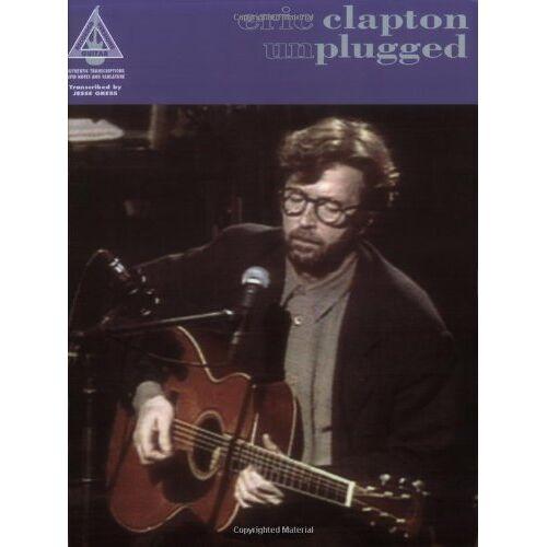 Eric Clapton - Eric Clapton: Unplugged TAB. Songbuch für Gitarre mit Tabulatur - Preis vom 12.10.2019 05:03:21 h