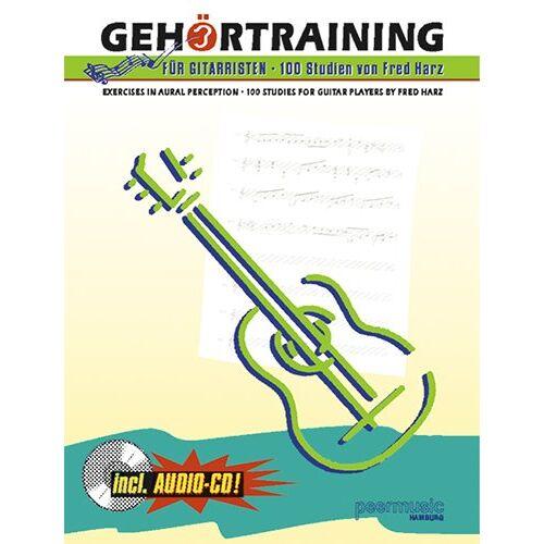 Fred Harz - Gehoertraining fuer Gitarristen. Gitarre (Musiknoten) - Preis vom 05.09.2020 04:49:05 h