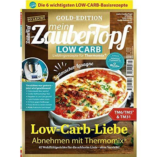 Vivien Koitka - Mein ZauberTopf: Goldedition - Low Carb Thermomix® TM5® TM31 TM6 - - Preis vom 05.09.2020 04:49:05 h