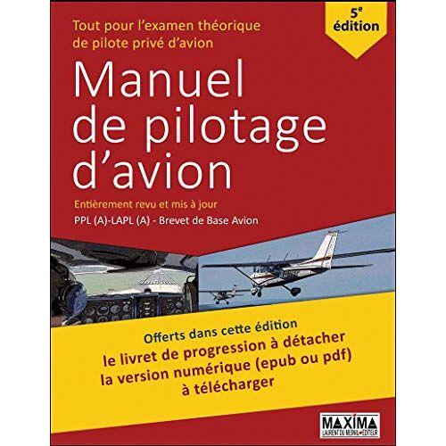 Maxima - Manuel de pilotage d'avion - Preis vom 05.10.2020 04:48:24 h