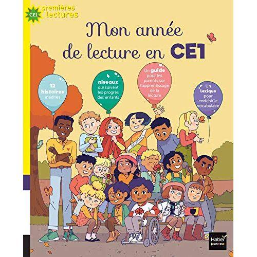 Collectif - Mon année de lecture en CE1 - Preis vom 25.01.2021 05:57:21 h