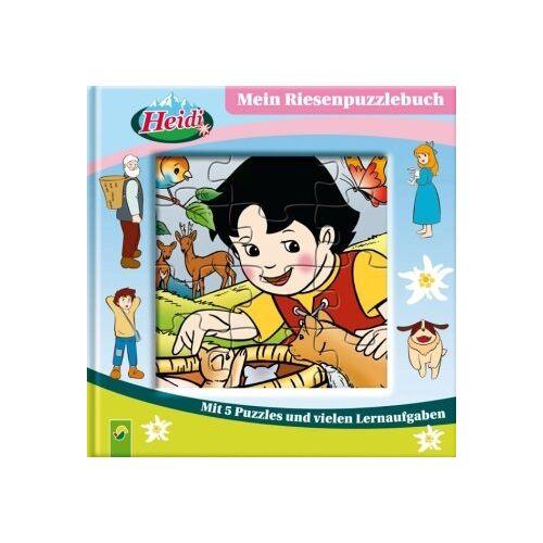 - Heidi - Mein Riesenpuzzlebuch. Mit 5 Puzzles und vielen Lernaufgaben - Preis vom 18.10.2020 04:52:00 h