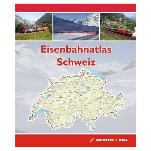 Hans Schweers - Eisenbahnatlas Schweiz: Railatlas Suisse - Svizzera - Switzerland - Preis vom 20.01.2021 06:06:08 h