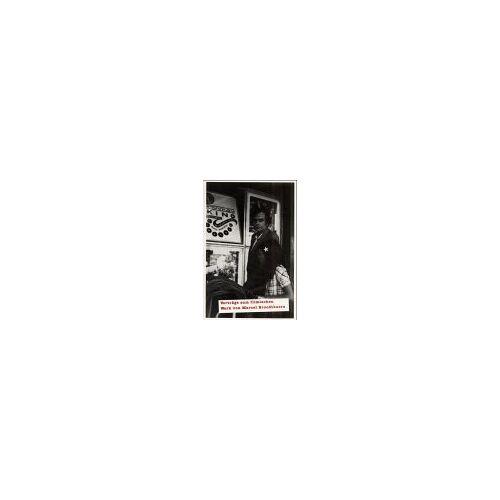Eugen Blume - Marcel Broodthaers - Cinema: Vorträge zum Werk von Marcel Broodthaers - Preis vom 14.05.2021 04:51:20 h