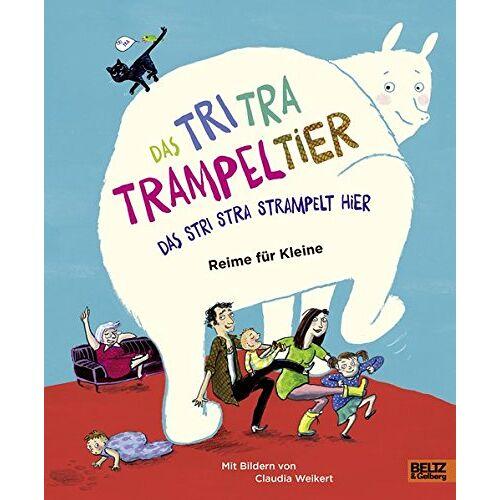 Stefanie Schweizer - Das Tri Tra Trampeltier, das stri stra strampelt hier: Reime für Kleine - Preis vom 28.02.2021 06:03:40 h