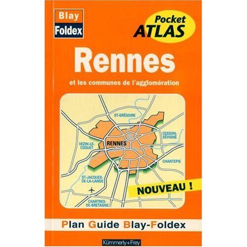 Plan de ville: Rennes, agglomération (avec un index) - Rennes et les communes de l'agglomeration - Preis vom 06.09.2020 04:54:28 h