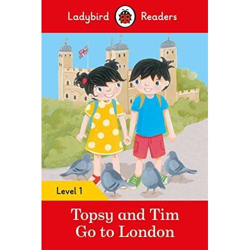Ladybird - Topsy and Tim: Go to London - Ladybird Readers Level 1 - Preis vom 23.02.2021 06:05:19 h