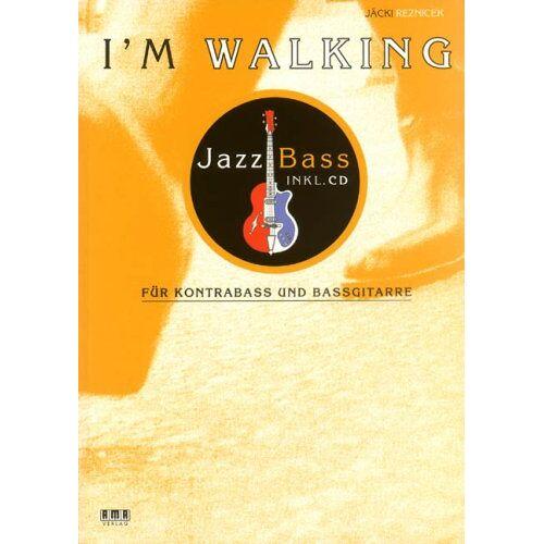 Reznicek, Hans-Jürgen (Jäcki) - I'm Walking - Jazz Bass. Mit CD: Für Kontrabass und Bassgitarre - Preis vom 18.04.2021 04:52:10 h
