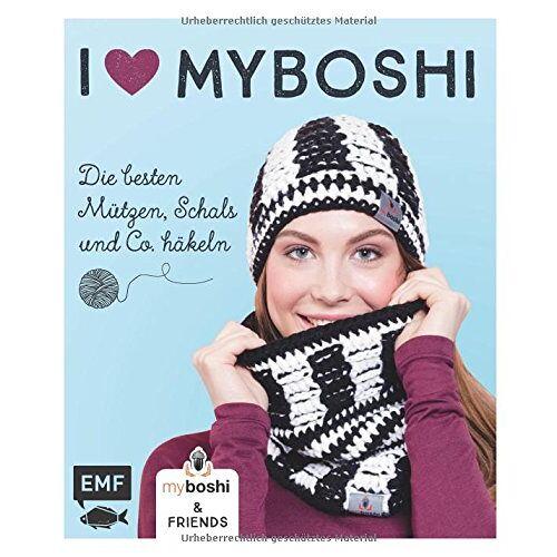 Thomas Jaenisch - I love myboshi - Die besten Mützen, Schals und Co. häkeln - Preis vom 29.05.2020 05:02:42 h