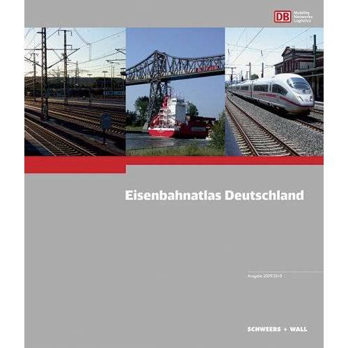 Hans Schweers - Eisenbahnatlas Deutschland 2009/2010 - Preis vom 20.01.2021 06:06:08 h