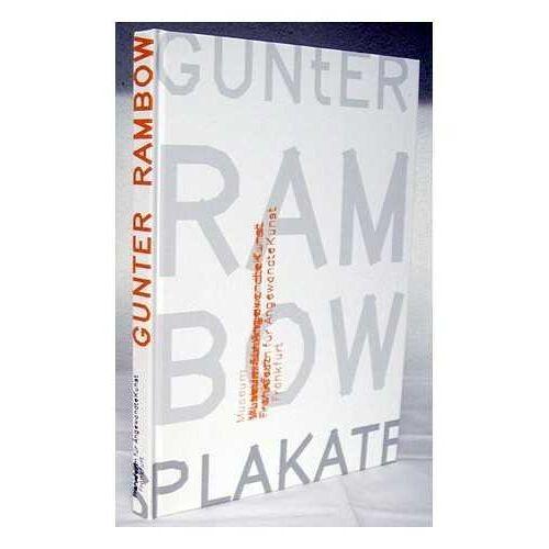 Eva Linhart - Gunter Rambow : Plakate = posters / Eva Linhart ; mit Beitragen von Volker Fischer ... [et al.] - Preis vom 25.01.2021 05:57:21 h