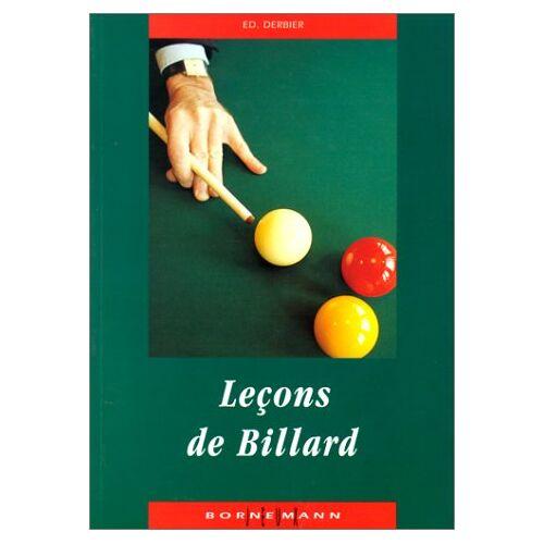 E Derbier - Leçons de billard (Jeux) - Preis vom 21.10.2020 04:49:09 h