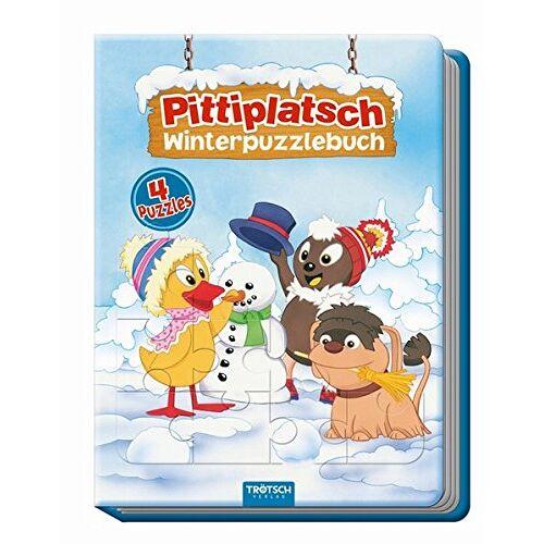 Trötsch Verlag e.K. - Winterpuzzlebuch Pittiplatsch: 4 Puzzle mit Farbvorlage - Preis vom 13.05.2021 04:51:36 h