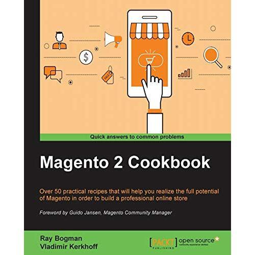 Ray Bogman - Magento 2 Cookbook (English Edition) - Preis vom 26.01.2021 06:11:22 h