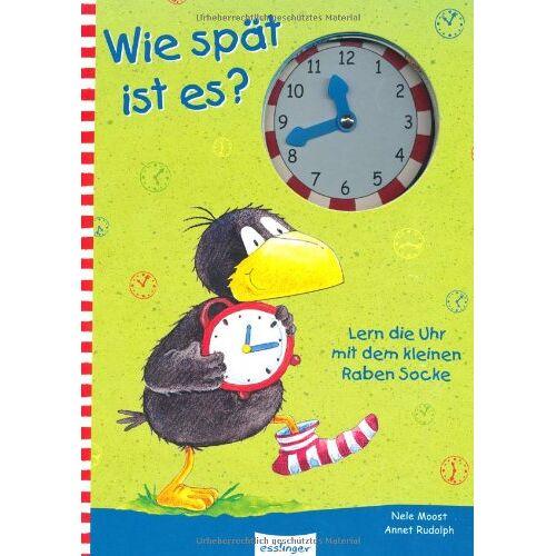 Nele Moost - Wie spät ist es?: Lern die Uhr mit dem kleinen Raben Socke - Preis vom 18.04.2021 04:52:10 h
