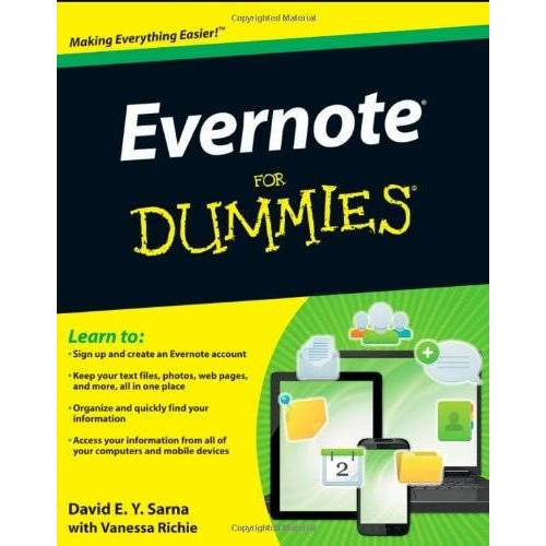 Sarna, David E. Y. - Evernote For Dummies - Preis vom 05.09.2020 04:49:05 h