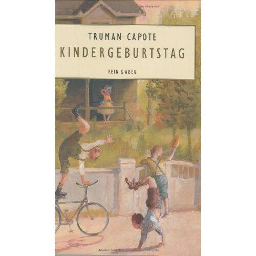 Truman Capote - Kindergeburtstag - Preis vom 24.02.2021 06:00:20 h