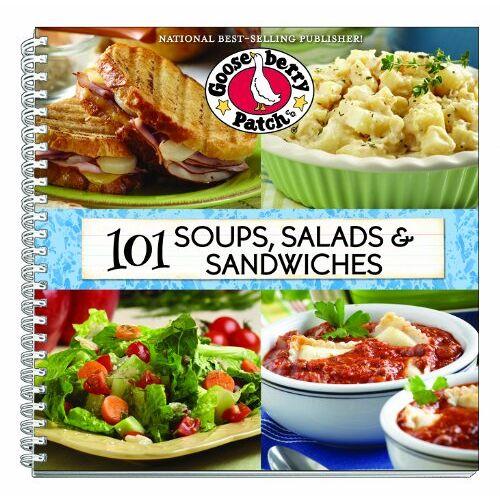 Gooseberry Patch - 101 Soups, Salads & Sandwiches (Gooseberry Patch (Paperback)) - Preis vom 17.04.2021 04:51:59 h