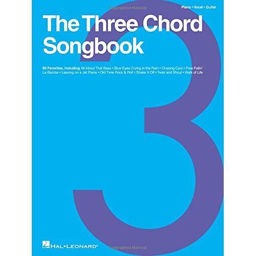 - The Three Chord Songbook -For Piano, Voice & Guitar- (Book): Songbook für Klavier, Gesang, Gitarre - Preis vom 28.02.2021 06:03:40 h