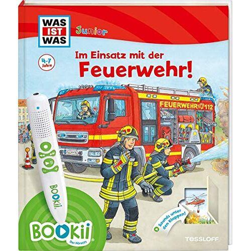 Christina Braun - BOOKii® WAS IST WAS Junior Im Einsatz mit der Feuerwehr! (BOOKii / Antippen, Spielen, Lernen) - Preis vom 14.05.2021 04:51:20 h