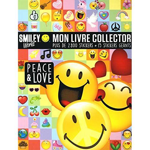 - Smiley World : Mon livre collector peace & love - Plus de 2800 stickers + 15 stickers géants - Preis vom 11.05.2021 04:49:30 h