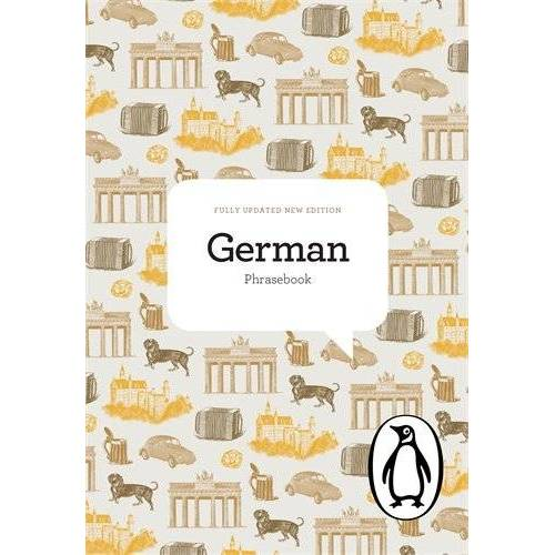 Jill Norman - The Penguin German Phrasebook (Phrase Book, Penguin) - Preis vom 22.01.2020 06:01:29 h