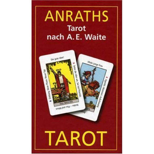 Renate Anraths - Anraths-Waite-Tarot. 86 Tarotkarten m. dt.- Anleitung, 65 x 110mm - Preis vom 10.05.2021 04:48:42 h