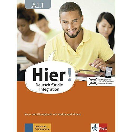 Alexis Feldmeier - Hier! A1.1: Deutsch für die Integration. Kurs- und Übungsbuch mit Audios und Videos - Preis vom 28.02.2021 06:03:40 h