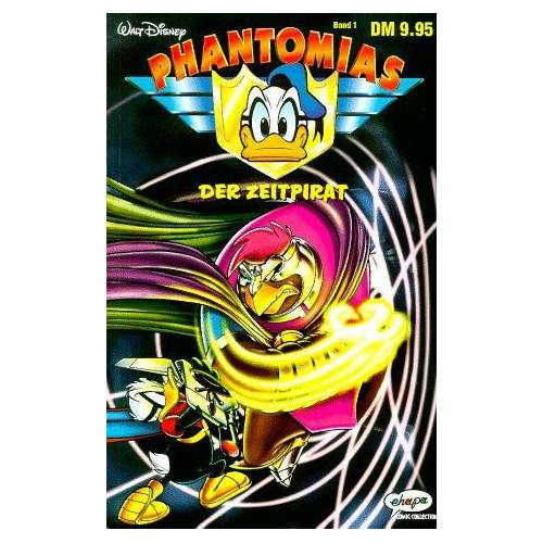 Walt Disney - Phantomias, Bd.1, Der Zeitpirat - Preis vom 28.02.2021 06:03:40 h