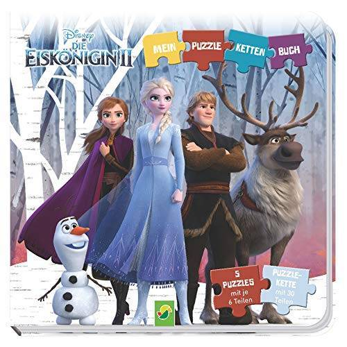 - Die Eiskönigin 2 - Puzzle-Ketten-Buch: Mit 5 Puzzles mit je 6 Teilen - Preis vom 15.05.2021 04:43:31 h