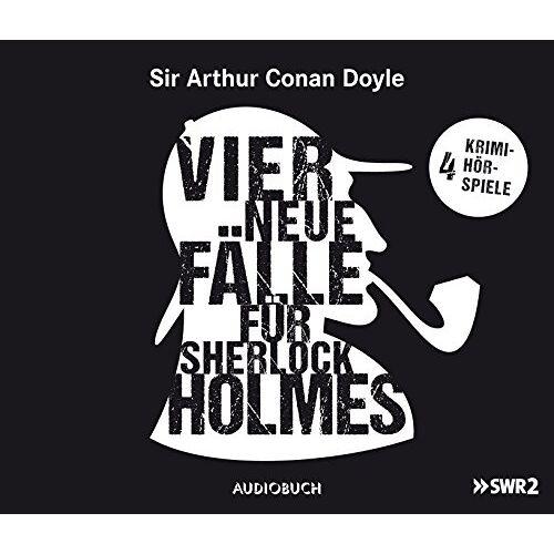 Doyle, Sir Arthur Conan - Vier neue Fälle für Sherlock Holmes (Abbey Grange, Der zweite Fleck, Wisteria Lodge, Der Teufelsfuß) - 4 CDs mit 224 Min. - Preis vom 20.10.2020 04:55:35 h
