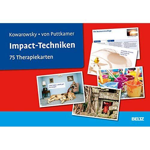 Gert Kowarowsky - Impact-Techniken: 75 Therapiekarten. Kartenset mit 75 Karten und 36-seitigem Booklet. - Preis vom 15.05.2021 04:43:31 h