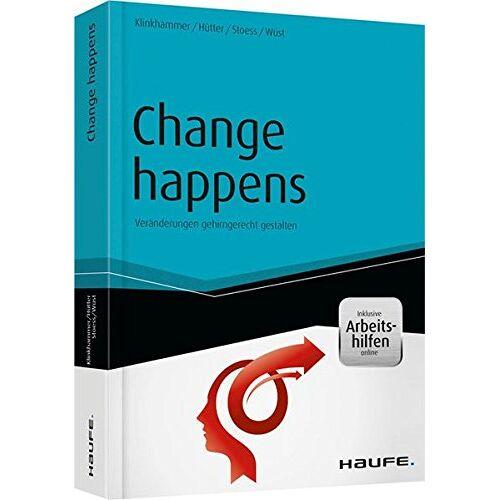 Margret Klinkhammer - Change happens: Veränderungen gehirngerecht gestalten (Haufe Fachbuch) - Preis vom 20.10.2020 04:55:35 h