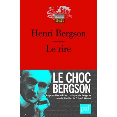 Henri Bergson - Le rire - Preis vom 18.10.2020 04:52:00 h