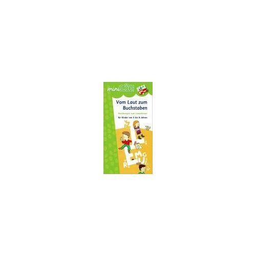 Heiner Müller - miniLÜK Vom Laut zum Buchstaben: Vorkurs zum Lesenlernen für Kinder von 5 bis 8 Jahren - Preis vom 08.05.2021 04:52:27 h