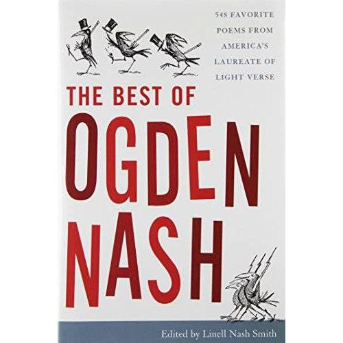 Ogden Nash - The Best of Ogden Nash - Preis vom 27.02.2021 06:04:24 h
