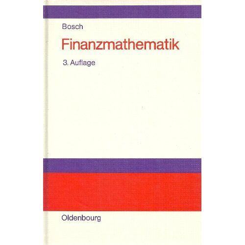 Karl Bosch - Finanzmathematik - Preis vom 20.10.2020 04:55:35 h