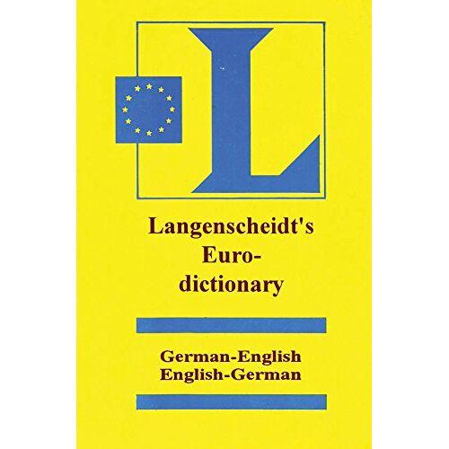 - Langenscheidt Euro Dictionary [Paperback] [Feb 01, 2011] Langenscheidt [Paperback] [Jan 01, 2017] Langenscheidt - Preis vom 04.09.2020 04:54:27 h