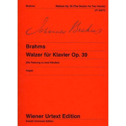 - Walzer Op 39. Klavier - Preis vom 09.04.2021 04:50:04 h