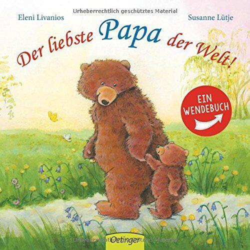 Susanne Lütje - Der liebste Papa der Welt!/ Die liebste Mama der Welt!: Wendebuch - Preis vom 11.04.2021 04:47:53 h