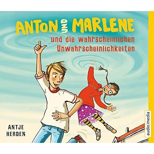 Antje Herden - Anton und Marlene und die wahrscheinlichen Unwahrscheinlichkeiten - Preis vom 15.04.2021 04:51:42 h