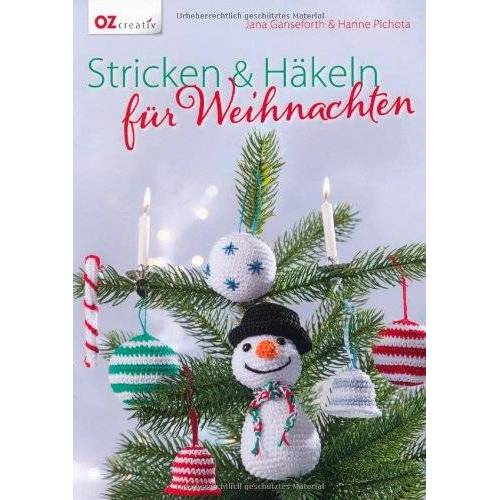 Jana Ganseforth - Stricken & Häkeln für Weihnachten - Preis vom 19.10.2020 04:51:53 h