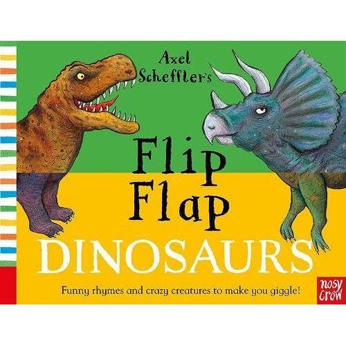 Axel Scheffler - Axel Scheffler's Flip Flap Dinosaurs (Axel Scheffler's Flip Flap Series) - Preis vom 27.02.2021 06:04:24 h